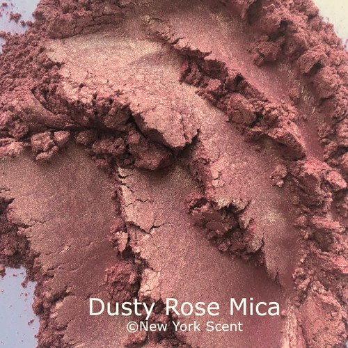 Dusty Rose Mica Powder - Soap & Cosmetic Colorant from New York Scent