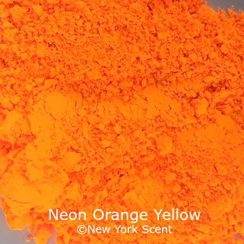 Neon Orange Yellow Fluorescent Pigment - Soap Colorant from New York Scent