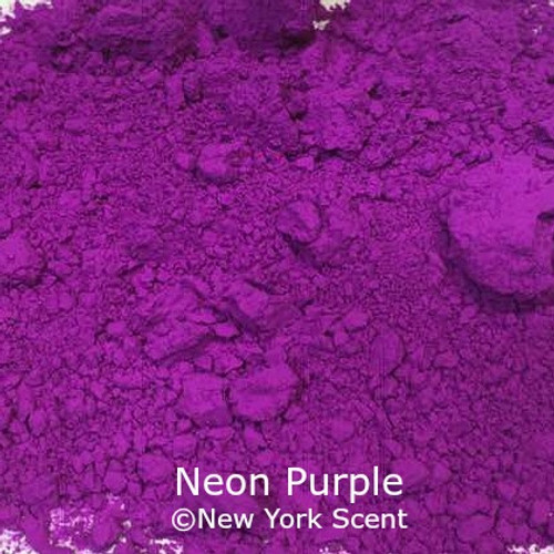 Neon Purple Fluorescent Pigment - Soap Colorant from New York Scent