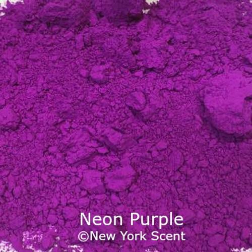 Neon Purple Fluorescent Pigment - Soap Colorant from New York Scent