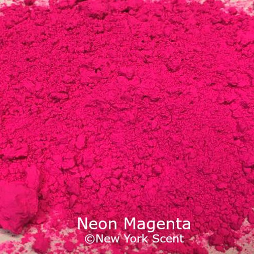 Neon Magenta Fluorescent Pigment - Soap Colorant from New York Scent