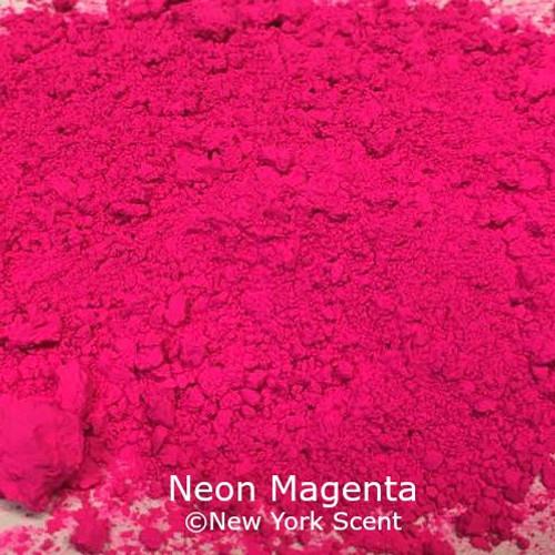 Neon Magenta Fluorescent Pigment - Soap Colorant from New York Scent
