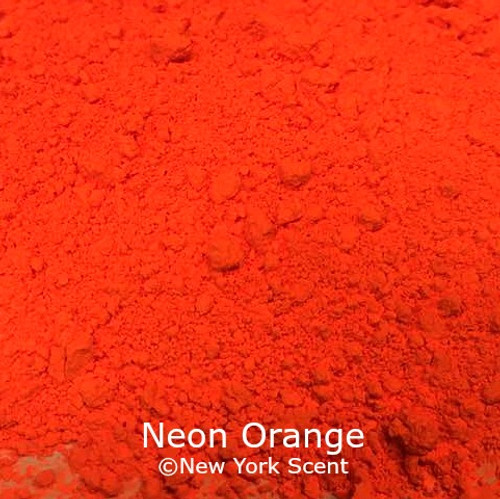 Neon Orange Fluorescent Pigment - Soap Colorant from New York Scent