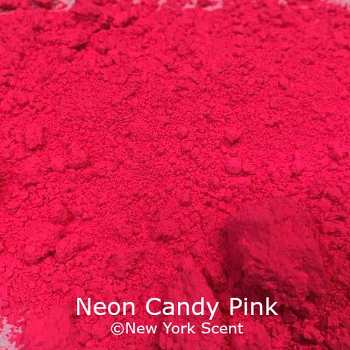 Neon Candy Pink Fluorescent Pigment - Soap Colorant from New York Scent