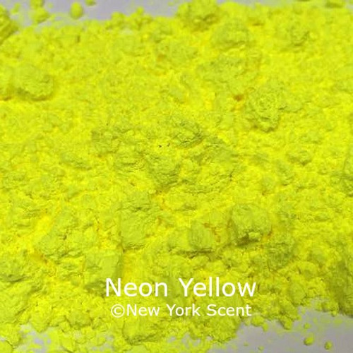 Neon Yellow Fluorescent Pigment - Soap Colorant from New York Scent