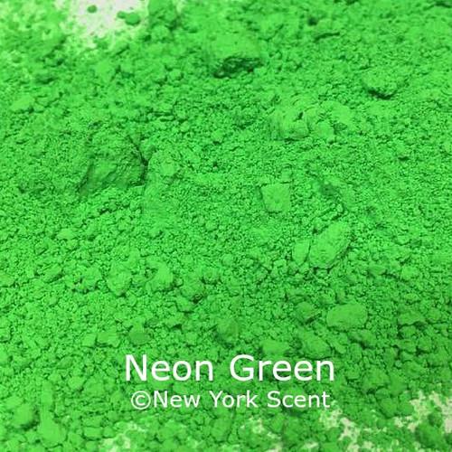 Neon Green Fluorescent Pigment - Soap Colorant from New York Scent