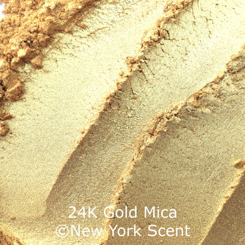 24K Gold mica powder from New York Scent