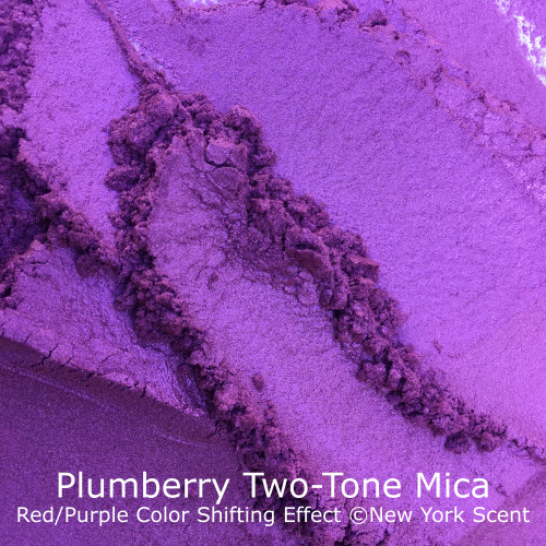 Plumberry Two-Tone Mica Powder with Color Shifting Effects from New York Scent