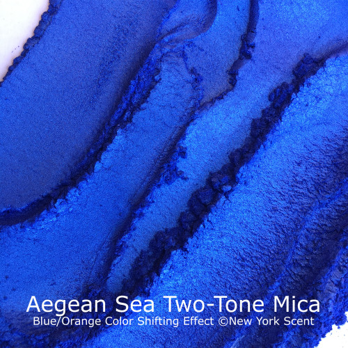 Aegean Sea Two-Tone Mica Powder with Color Shifting Effects from New York Scent