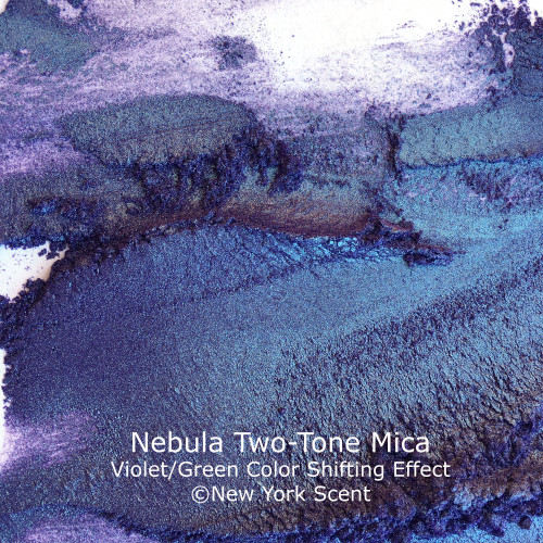 Nebula Two-Tone Mica Powder with Color Shifting Effects from New York Scent