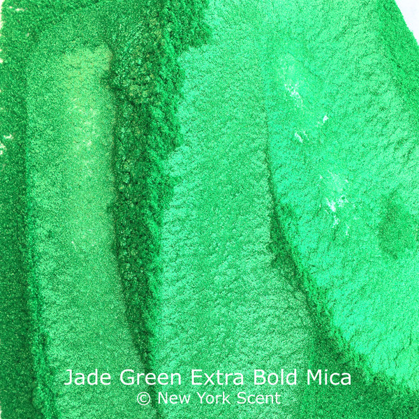Jade Green Extra Bold Mica Colorant from New York Scent