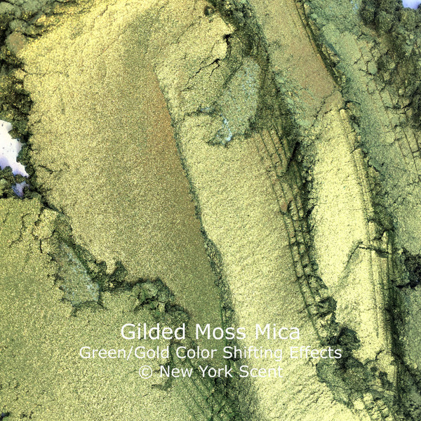 Gilded Moss Two-Tone Mica Powder with Color Shifting Effects from New York Scent