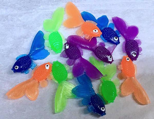 Goldfish Vinyl Toys, Set 12