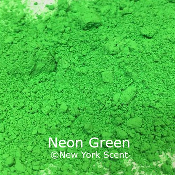Neon Green Fluorescent Pigment - Soap Colorant from New York Scent
