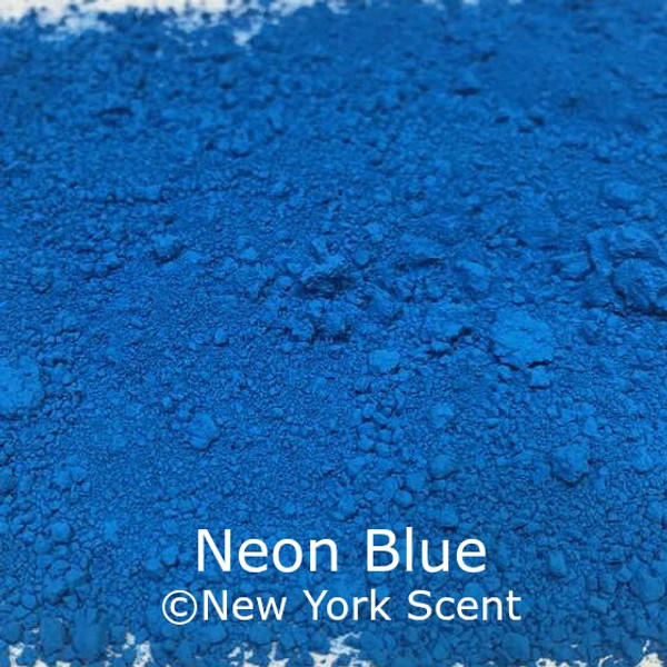 Neon Blue Fluorescent Pigment - Soap Colorant from New York Scent