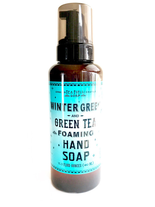 Wintergreen & Green Tea Foaming Hand Soap