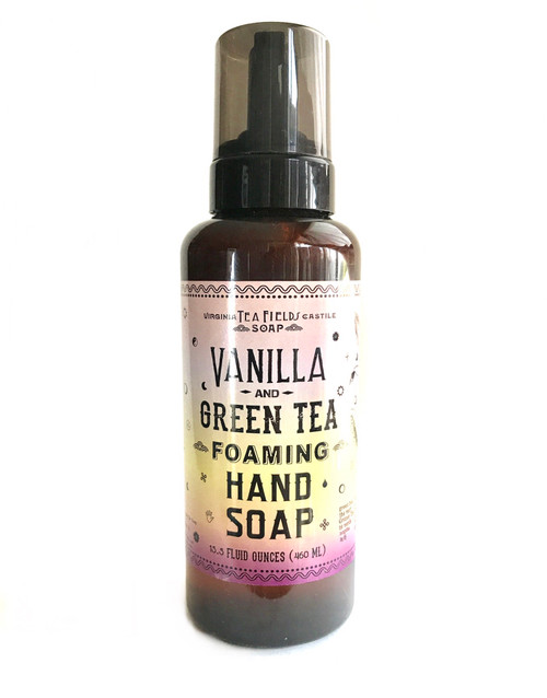 Vanilla & Green Tea Foaming Hand Soap