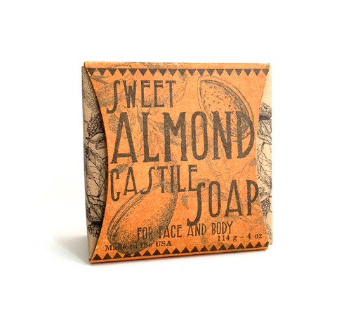 Sweet Almond Castile Face and Body Soap