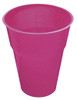 HOT PINK 12 X 270ml (9oz) PLASTIC CUPS