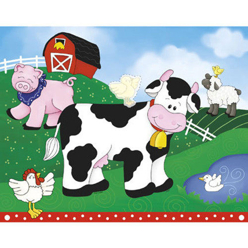FARM FRIENDS BLINDFOLD GAME