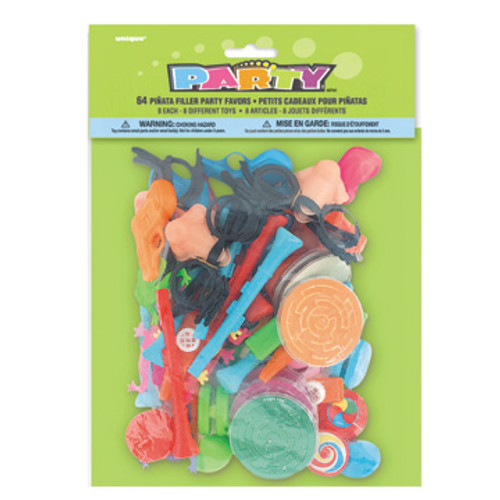 PINATA FILLERS 64 pcs