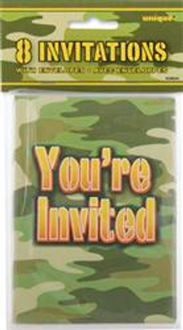 CAMO 8 INVITATIONS