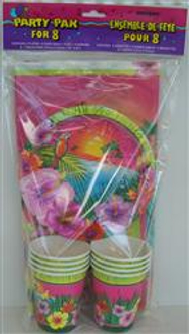 LUAU PARTY PARTY PACK FOR 8