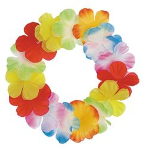 LUAU FLOWER HEADBAND - MULTI