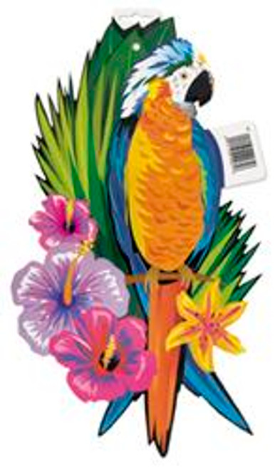 LUAU TROPICAL BIRD CUTOUT