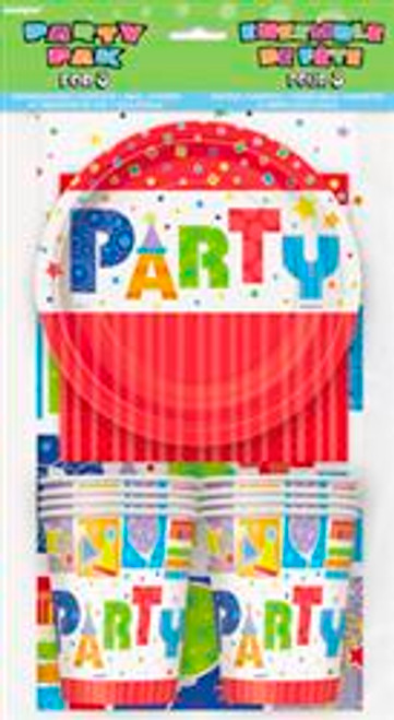 PARTY STYLE PARTY PACK FOR 8
