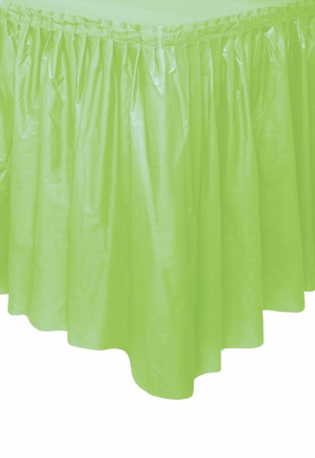"APPLE GREEN TABLESKIRT 73cm X 4.3m 223cm (29"" X 14')"