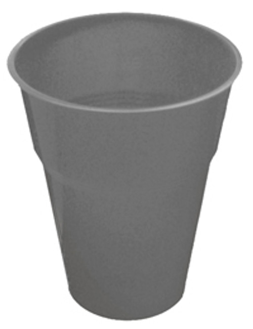 SILVER 25 X 270ml (9oz) PLASTIC CUPS