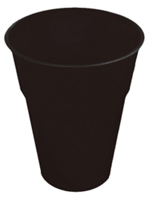 BLACK 12 X 270ml (9oz) PLASTIC CUPS