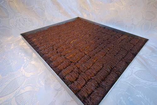 Full Tray - Milk Chocolate & Hazelnut Baklava - Small Cut