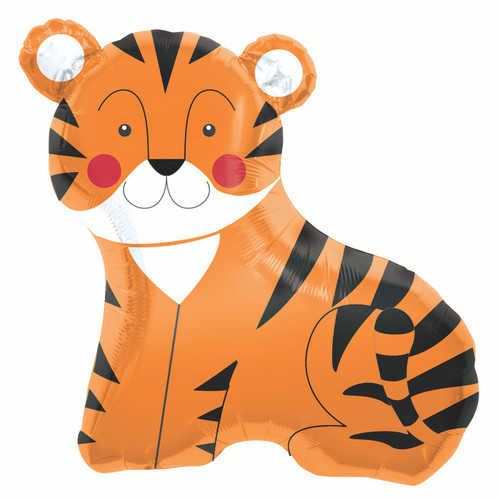 "FOIL BALLOON.14"" AIR/VALVE TEENY TIGER"
