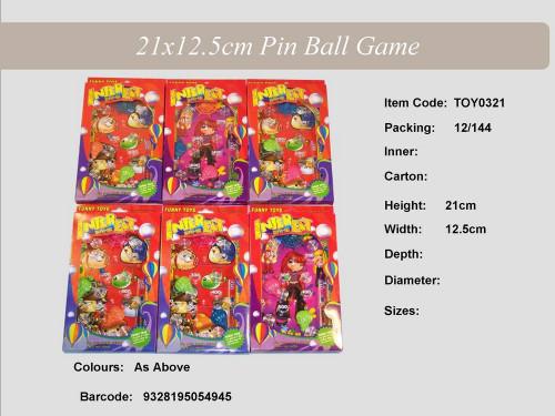 Pin Ball Game 21X12.5Cm