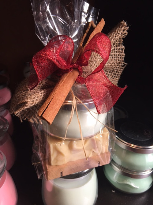Tureen Candle - 2 Soap Gift Set