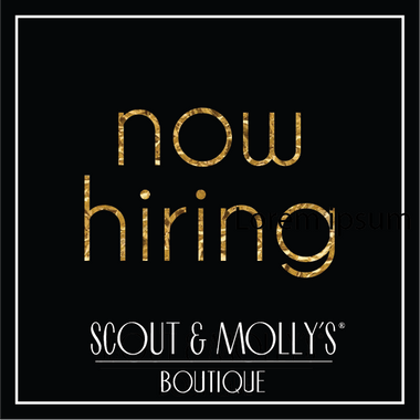 Scout & Molly's of North Hills is Hiring!