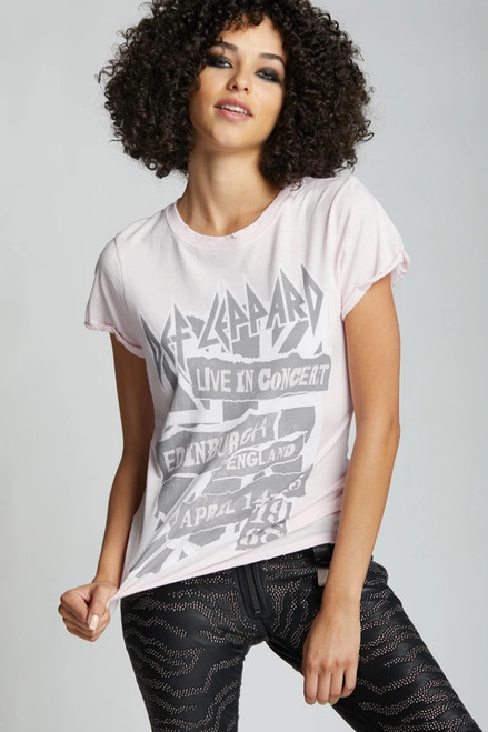 Def Leppard Live In Concert England Tee