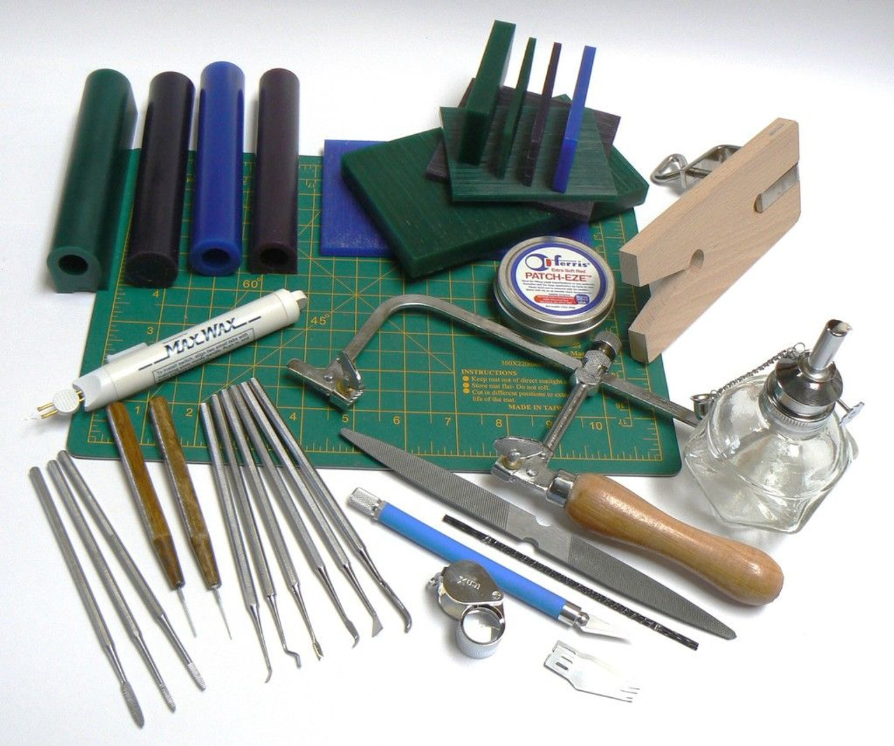 Wax Working Model Making Carving Jewelry Wax Design Work Kit Waxes & Tools
