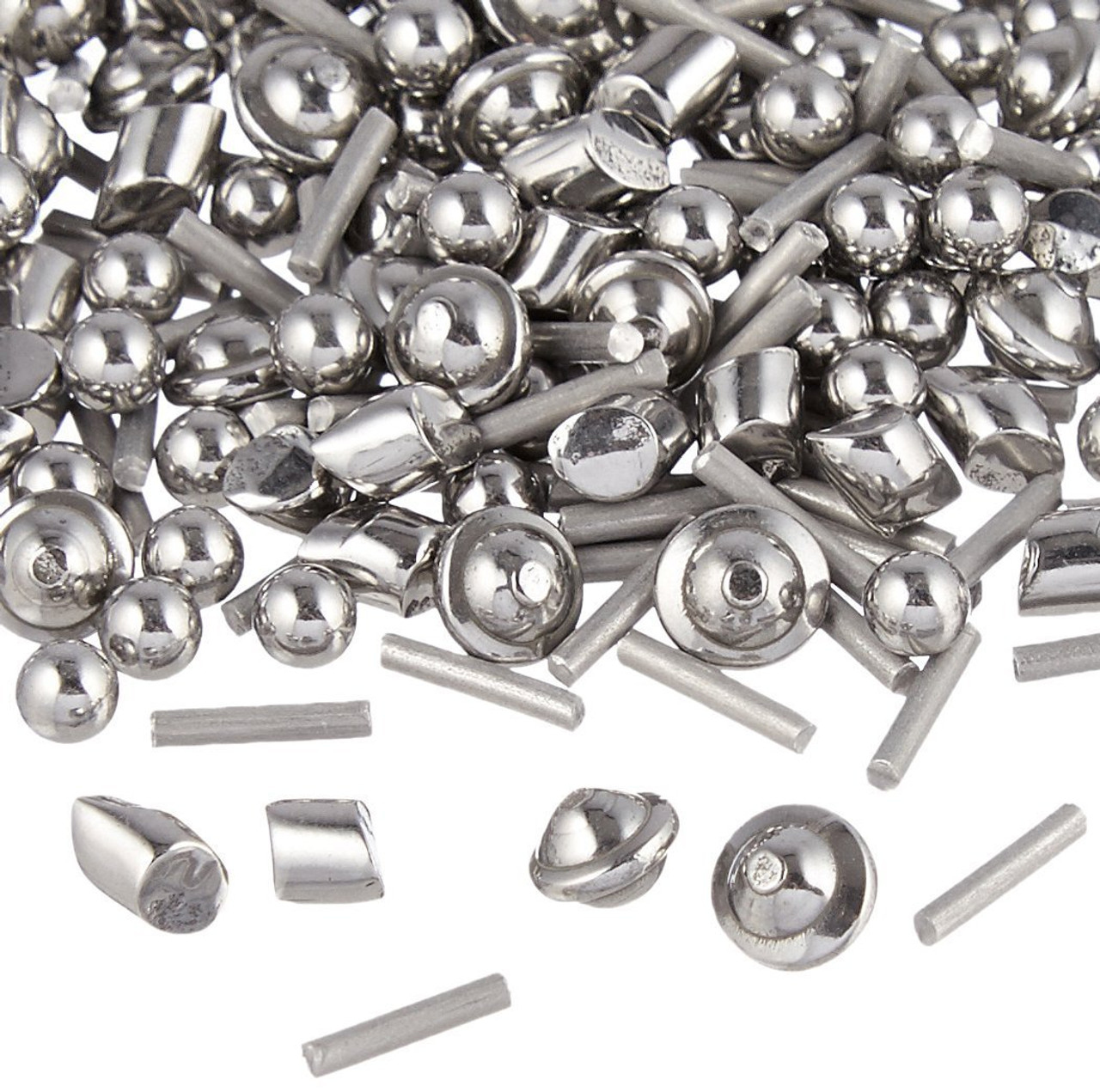 1 LB Stainless Steel Tumbling Media Shot Jewelers Mix 3 Shapes Tumbler Finishing