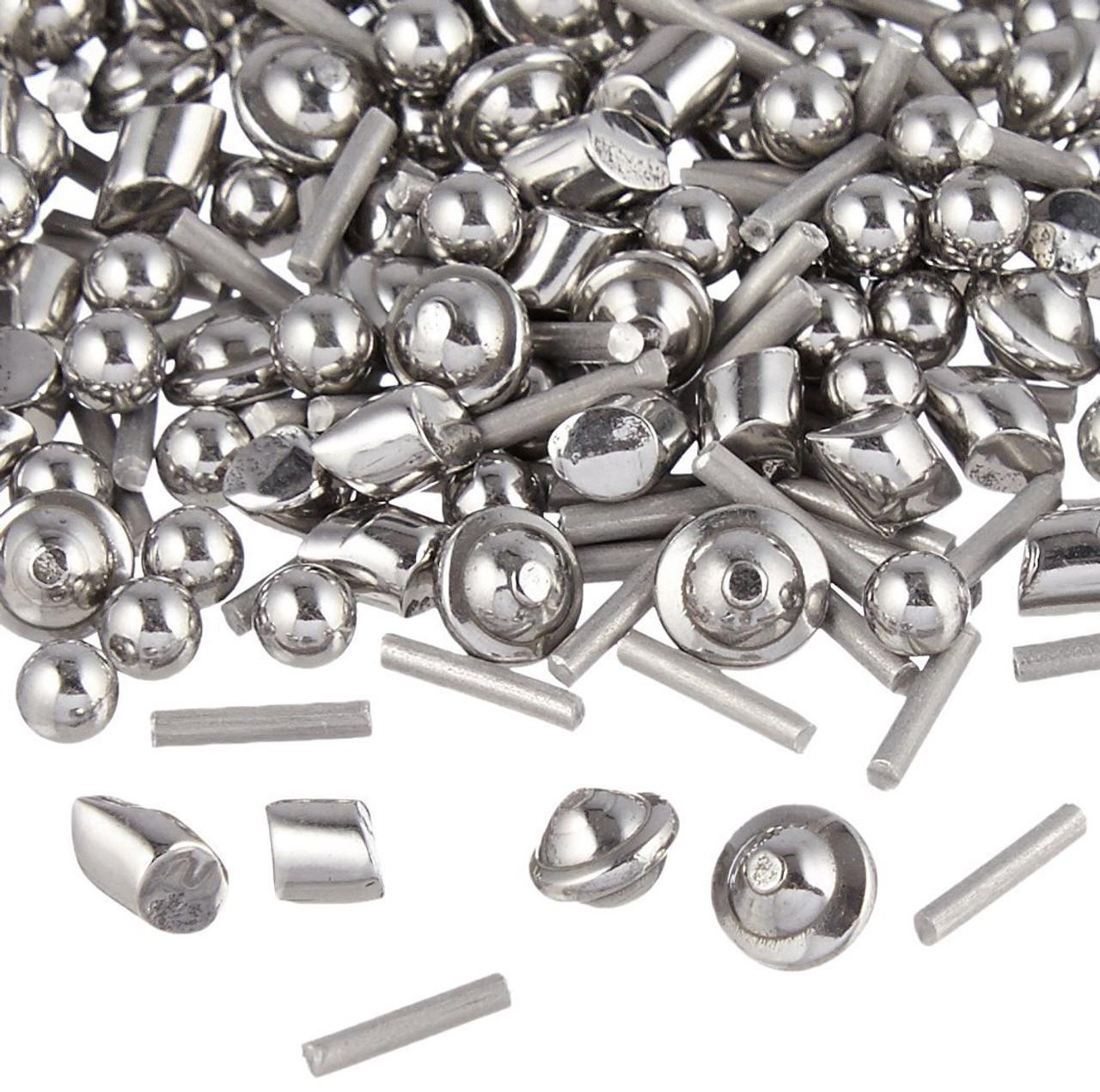 5 Lb 1//8 Stainless Steel Tumbling Media Shot Jewelers Mix 3 Shapes Tumbler Finishing