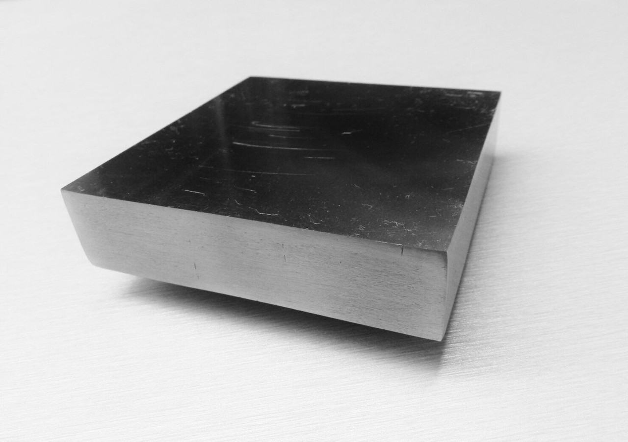 """1"""" Thick Steel Block 3""""x3"""" Bench Block Anvil Jewelry Metal Working Stamping A-1"""