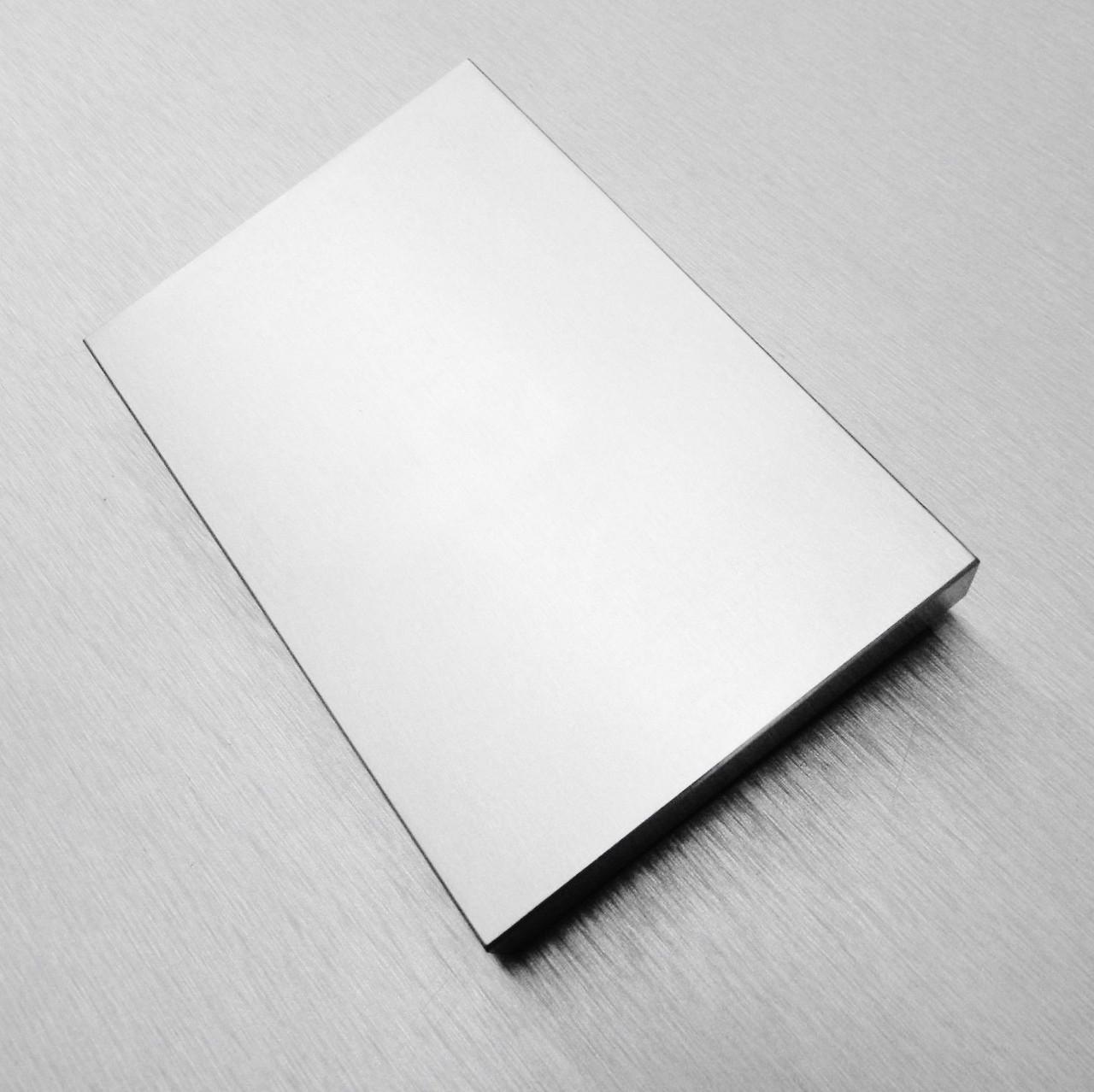4x6 Steel Bench Block Jewelers Block Hardened Metal Working Forming Flat Anvil