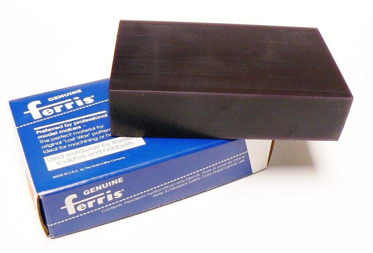 Jewelry Carving Wax Ferris Purple Block Lost Wax Casting Model Design Work Wax