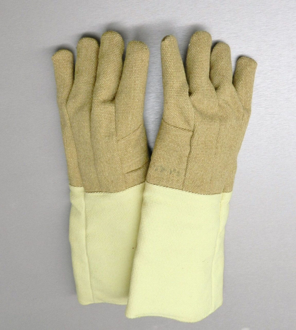 """Gloves High Temperature Protection Heat Resistant Glove PBI 14/"""" Pair Rated 1400F"""