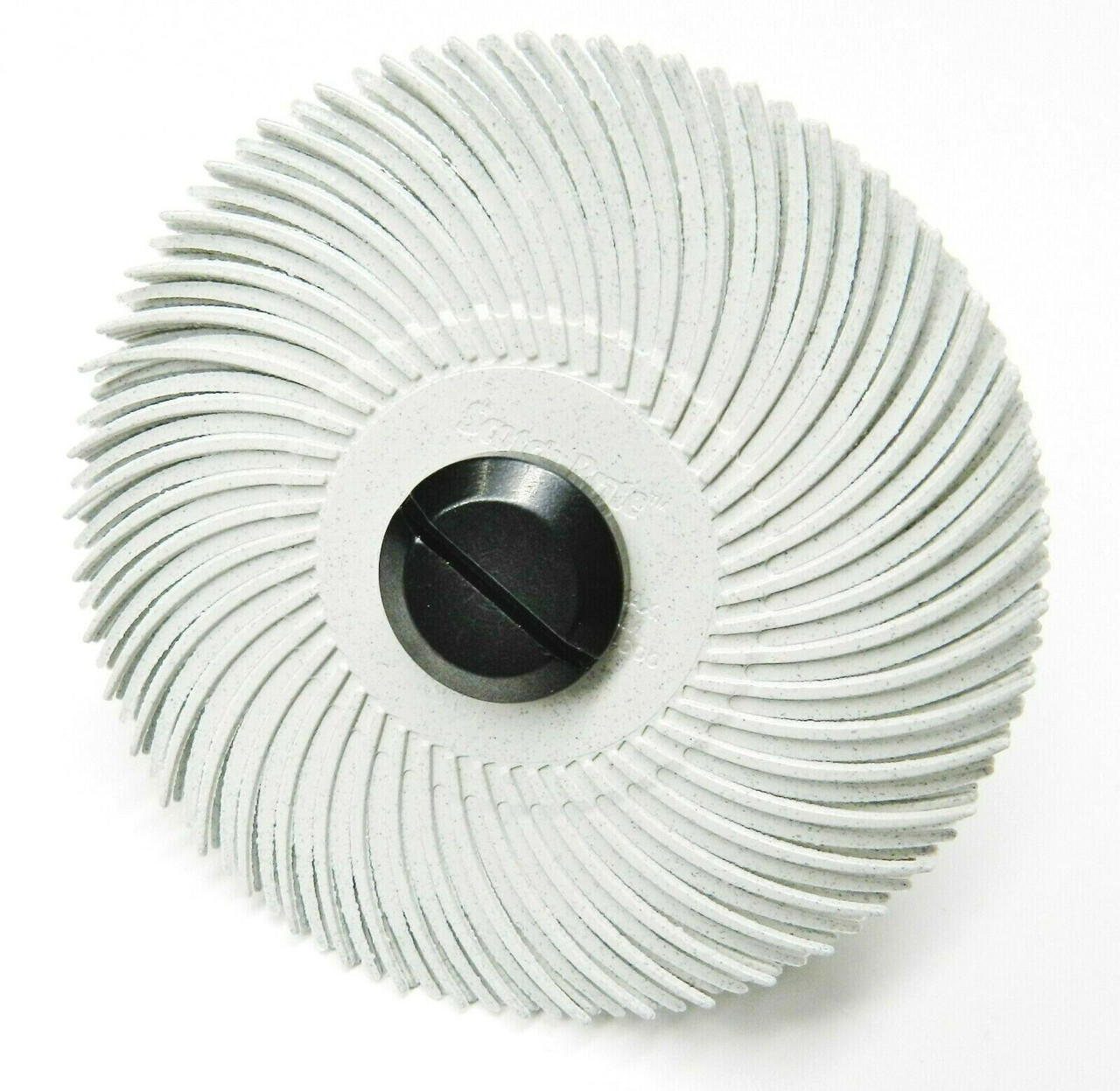 3M Radial Bristle Disc 3 120 Grit White with 1//4 Mandrel 6 Brushes and Arbor Set by Jets