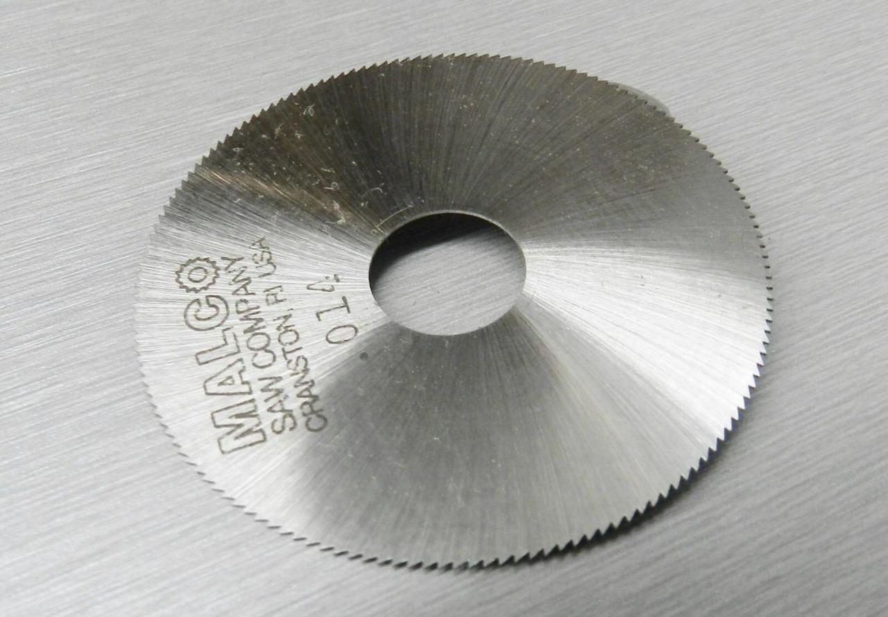 "Malco Saw Blade Jewelers Slotting Saws 2/"" High Speed Circular Saw Blades 0.006/"""