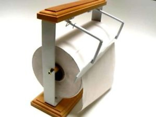 Holder/Cutter for Jeweler's Tissue and Gift Wrap Rolls