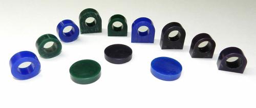 Carving Wax Ring Tube Assortment 12 Pcs Pre-Cut Tubes & Blanks 3 Grades of Wax